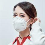 n95 Engångsmask för att förhindra smog, förhindra damm och andas fritt