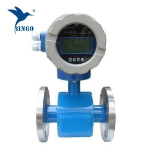 elektromagnetiska flödesmätare leddisplay använt avloppsreningsvatten