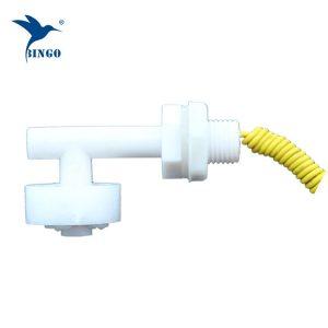 Horisontell mini L-form plastflödesbrytare för vattentank