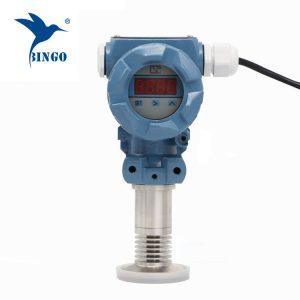 Sanitär-Flush-Membran-Tryck-Sändare med LED-skärm